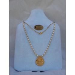 Collar Fenicio de Trayamar con perlas